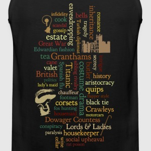 Word Mosaic Women's T-Shirts - Men's Premium Tank