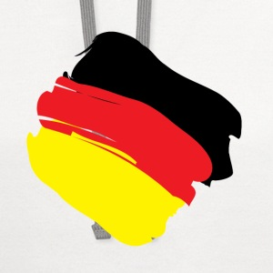 Flag of Germany T-Shirts - Contrast Hoodie