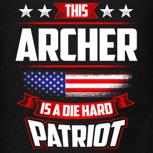 4th Of July Archer Shirt Gift Archery Bow Arrow Hoodies - Men's T-Shirt