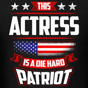 4th Of July Actress Shirt Gift Actor Acting Sportswear - Men's T-Shirt