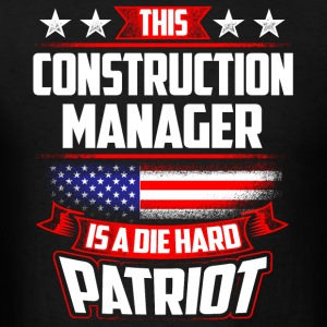 4th Of July Construction Manager Shirt Gift Sportswear - Men's T-Shirt