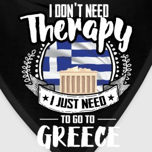 Countries Therapy Greece T-Shirts - Bandana