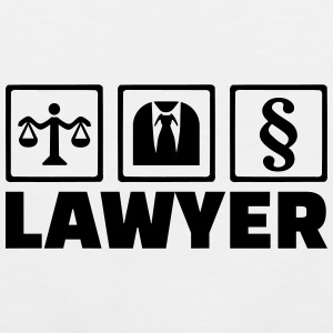 Lawyer Mugs & Drinkware - Men's Premium Tank