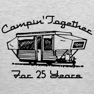 Camping Together 25 Years T-Shirts - Men's Premium Tank