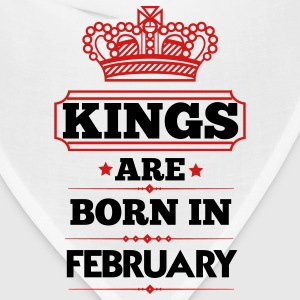 KINGS ARE BORN IN FEBRUARY T-Shirts - Bandana
