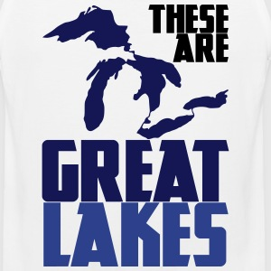 These are GREAT LAKES T-Shirts - Men's Premium Tank