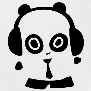 Headphones Panda Badge - Bandana