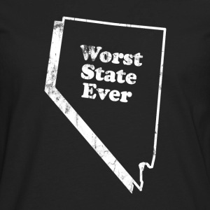 NEVADA - WORST STATE EVER Kids' Shirts - Men's Premium Long Sleeve T-Shirt