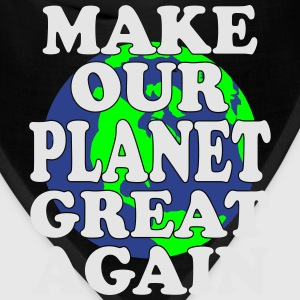 make planet great again T-Shirts - Bandana
