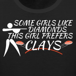 Clay Shooting Shirts for Girls - Men's Premium Tank