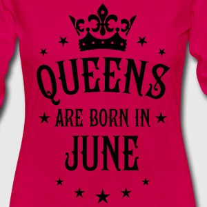 Queens are born in June birthday sexy Woman Tee - Women's Premium Long Sleeve T-Shirt