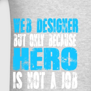 web designer Hero - Men's T-Shirt