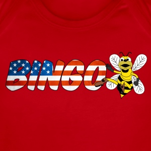 Bingo Bee Kids' Shirts - Short Sleeve Baby Bodysuit