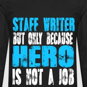 staff writer Hero - Men's Premium Long Sleeve T-Shirt