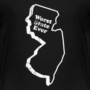 NEW JERSEY - WORST STATE EVER Kids' Shirts - Toddler Premium T-Shirt