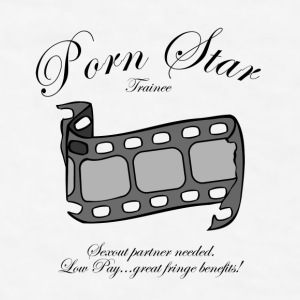 Porn Star trainee:  Sexout partner needed! Gift - Men's T-Shirt