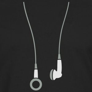 Earphones 2clr Hoodies - Men's Premium Long Sleeve T-Shirt