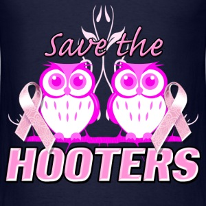 save_the_hooters Hoodies - Men's T-Shirt