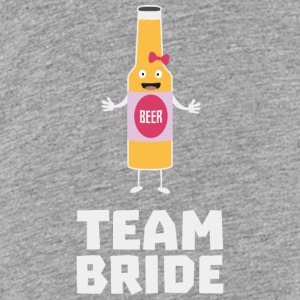 Team Bride Beerbottle S5s42 Sweatshirts - Toddler Premium T-Shirt