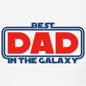 Best Dad in the Galaxy Mugs & Drinkware - Men's T-Shirt