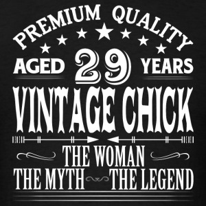 VINTAGE CHICK AGED 29 YEARS Tanks - Men's T-Shirt