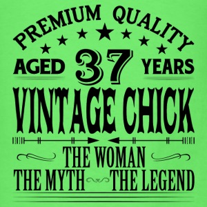 VINTAGE CHICK AGED 37 YEARS Tanks - Men's T-Shirt