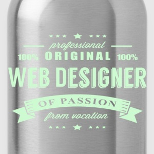 Web Designer Passion T-Shirt - Water Bottle