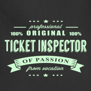 Ticket Inspector Passion T-Shirt - Adjustable Apron