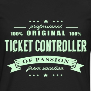 Ticket Controller Passion T-Shirt - Men's Premium Long Sleeve T-Shirt