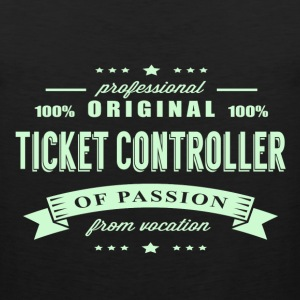 Ticket Controller Passion T-Shirt - Men's Premium Tank