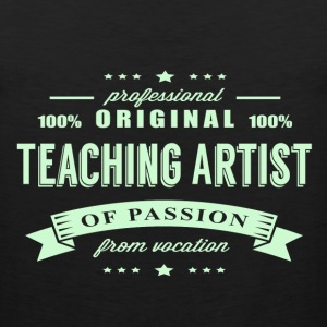 Teaching Artist Passion T-Shirt - Men's Premium Tank