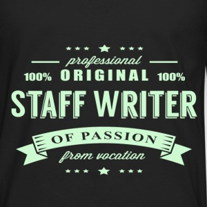 Staff Writer Passion T-Shirt - Men's Premium Long Sleeve T-Shirt