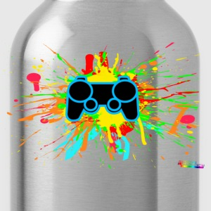 Controller Splatter Hoodies - Water Bottle