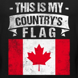 This is My Country's Flag Canadian Flag Day Shirt T-Shirts - Men's Premium Tank
