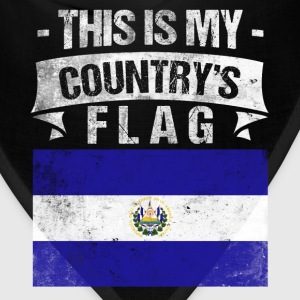 This is My Country's Flag Salvadorian Flag Day  T-Shirts - Bandana
