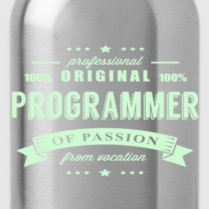 Programmer Passion T-Shirt - Water Bottle