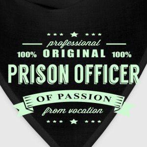 Prison Officer Passion T-Shirt - Bandana