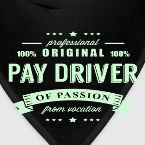 Pay Driver Passion T-Shirt - Bandana