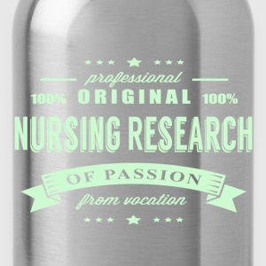 Nursing Research Passion T-Shirt - Water Bottle
