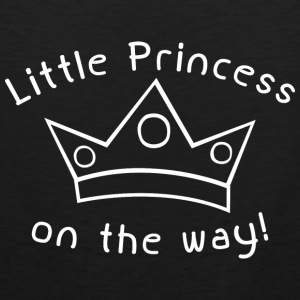 Little Princess On The Way - Men's Premium Tank