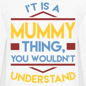 MUMMY 1A.png T-Shirts - Men's Premium Long Sleeve T-Shirt