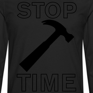 Stop Hammer Time - Men's Premium Long Sleeve T-Shirt