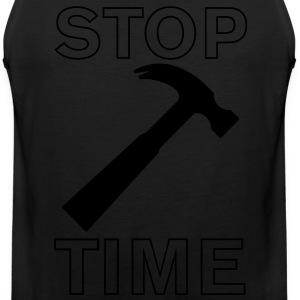 Stop Hammer Time - Men's Premium Tank