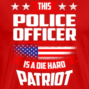 4th Of July Police Officer Patriot Shirt Gift Sportswear - Men's Premium T-Shirt