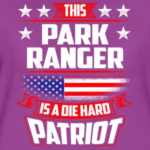 4th Of July Park Ranger Die Hard  Patriot Gift Tanks - Women's Premium T-Shirt
