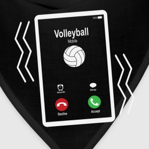 Volleyball Mobile is Calling Mobile T-Shirts - Bandana
