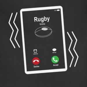 Rugby Mobile is Calling Mobile T-Shirts - Adjustable Apron