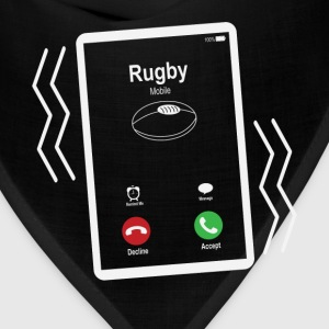 Rugby Mobile is Calling Mobile T-Shirts - Bandana