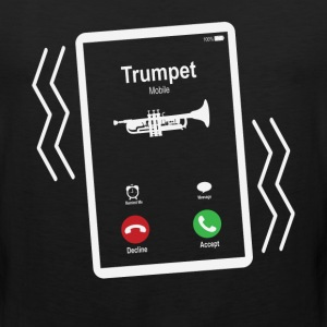 Trumpet Mobile is Calling Mobile T-Shirts - Men's Premium Tank