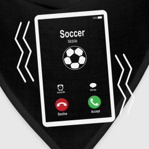 Soccer Mobile is Calling Mobile T-Shirts - Bandana